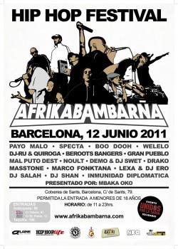 Afrikabambarna festival en Barcelona