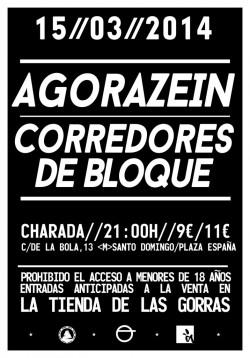 Agorazein y Corredores de Bloque en Madrid