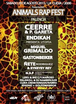 Animals Rap Fest en Palencia