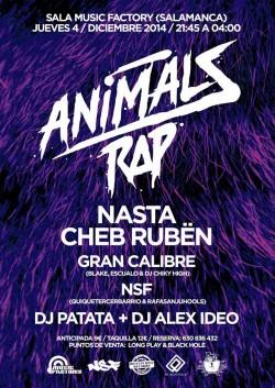 Animals Rap en Salamanca