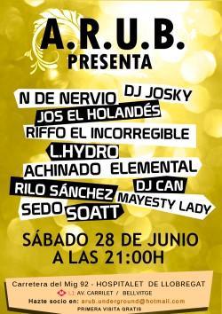 Asociación de Hip Hop A.R.U.B. en Hospitalet De Llobregat