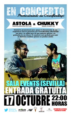 Astola y Chukky en Sevilla