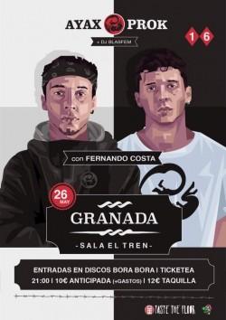 Ayax y Prok en Granada