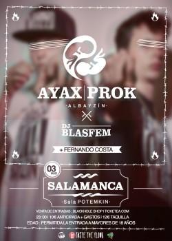 Ayax y Prok en Salamanca