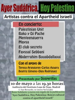 Ayer Sudáfrica, hoy Palestina en Madrid