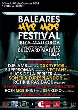 Baleares Hip Hop Festival en Ibiza
