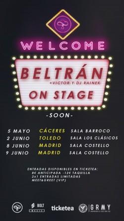 Beltrán en Cáceres