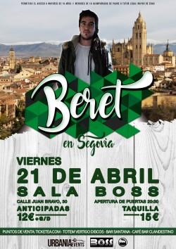 Beret en Segovia