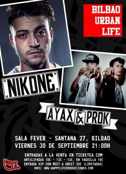 Bilbao Urban Life: Nikone & Ayax y Prok en Bilbao