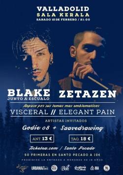 Blake y Zetazen en Valladolid