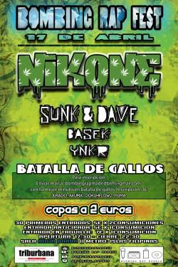 Bombing Rap Fest en Madrid