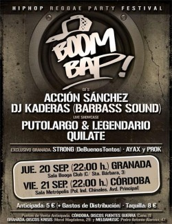 Boom Bap Festival 2012 en Granada