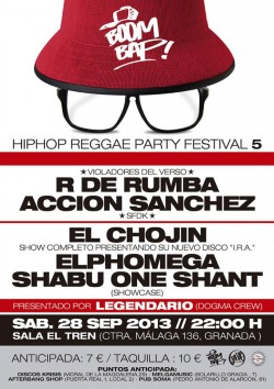 Boom Bap Festival 5 en Granada
