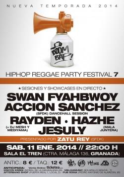 Boom Bap! Festival 7 en Granada