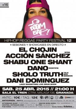 Boom Bap! Hip Hop Reggae Party Festival 12 en Granada