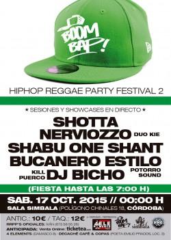Boom Bap! Hip Hop Reggae Party Festival 2 cordoba