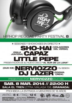 Boom Bap! Hip Hop Reggae Party Festival 8 en Granada