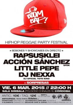 Boom Bap! Hip Hop Reggae Party Festival en Córdoba