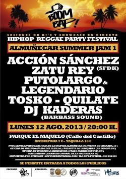 Boom Bap! Summer Jam 1 en Almuñecar