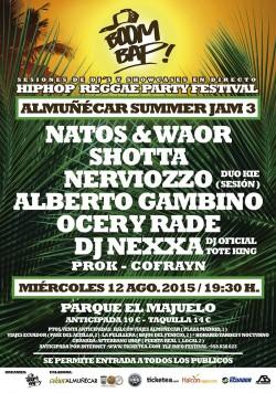 Boom Bap! Summer Jam 3 en Almuñecar