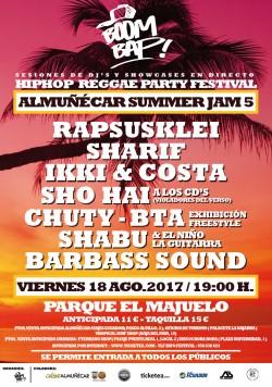Boom Bap! Summer Jam 5 en Almuñecar