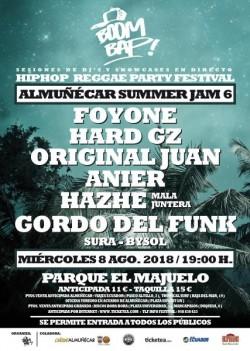 Boom Bap! Summer Jam 6 en Almuñecar