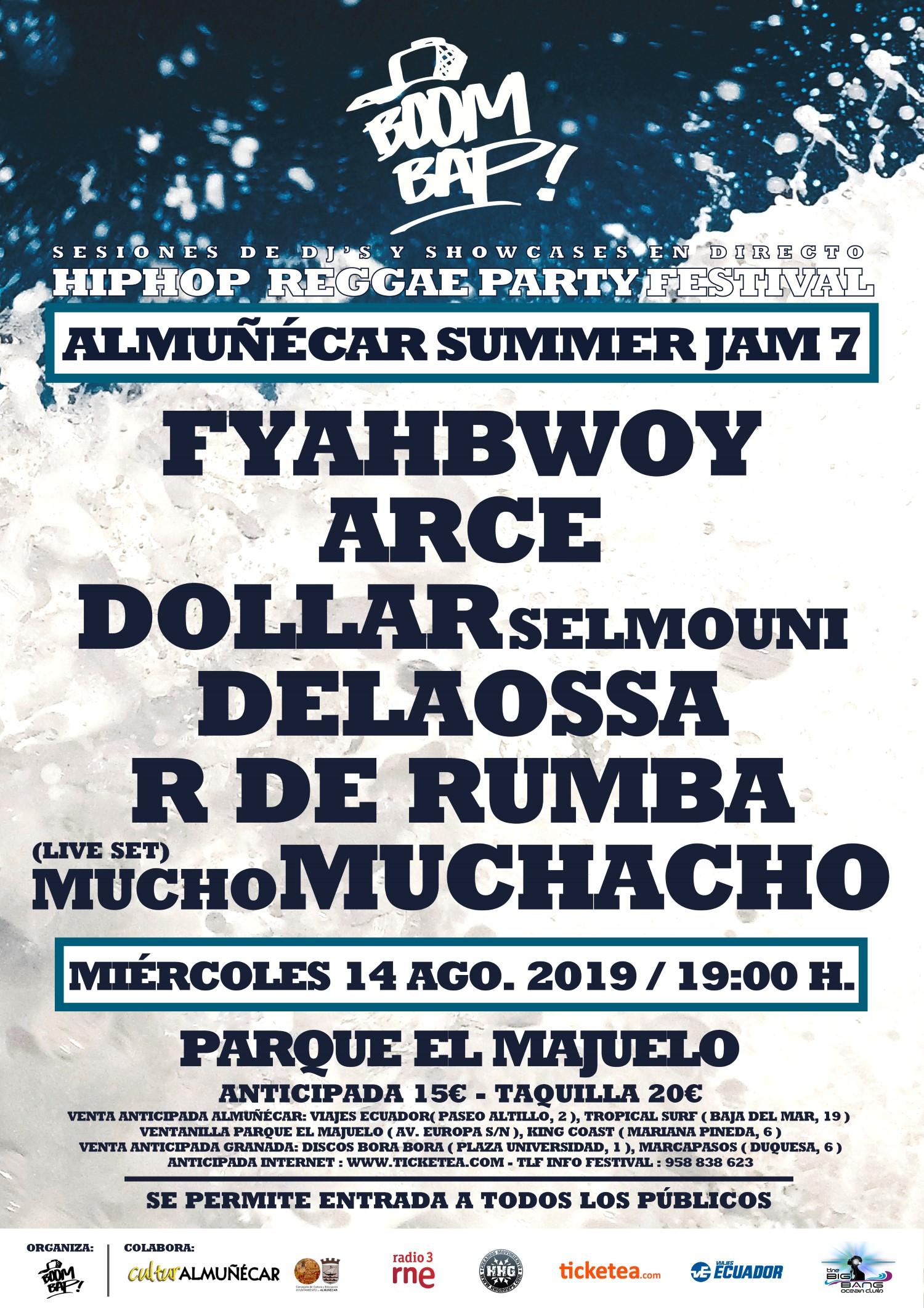 Boom Bap! Summer Jam 7 en Almuñecar