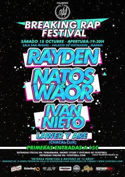 Breaking rap festival en Madrid