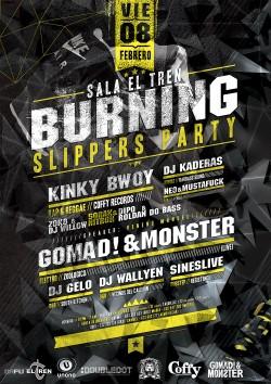 Burning Slippers Party en Granada