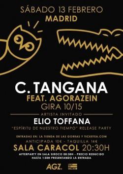 C. Tangana en Madrid