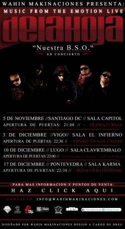 CANCELADO - Delahoja en Lugo