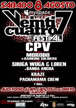 CPV, Shuga y Kraze