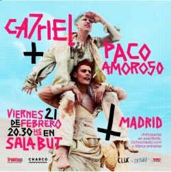 Ca7riel y Paco amoroso en Madrid