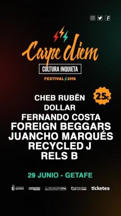 Carpe Diem Festival 2018 en Getafe