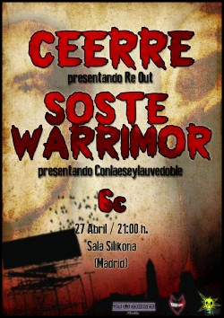 Ceerre y Soste Warrimor en Madrid