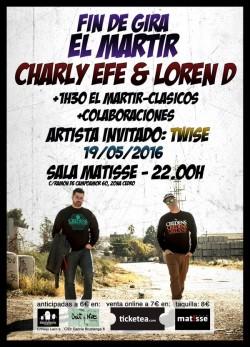 Charly Efe & Loren D - Fin de gira en Valencia