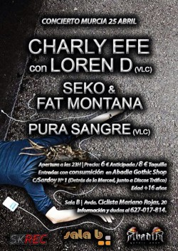 Charly Efe, Loren D, Seko, Fat Montana y más en Murcia