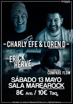 Charly Efe & Loren D y Erick Hervè en Alicante
