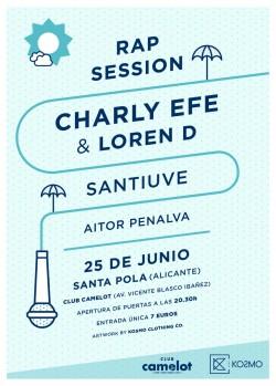 Charly Efe, Loren D y Santiuve en Alicante