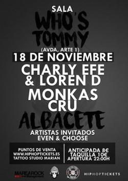 Charly Efe en Albacete