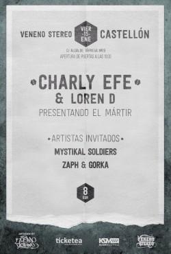Charly Efe en Castellón
