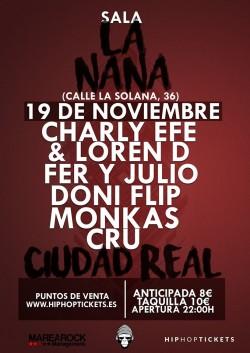 Charly Efe en Ciudad Real