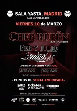 Cheb Rubën, Fer y Julio y Sitton en Madrid