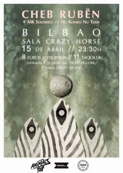Cheb Rubën en Bilbao