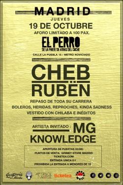 Cheb Rubën en Madrid