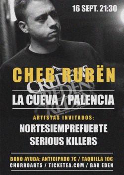 Cheb Rubën en Palencia