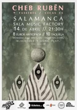 Cheb Rubën en Salamanca
