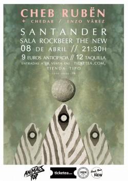 Cheb Rubën en Santander