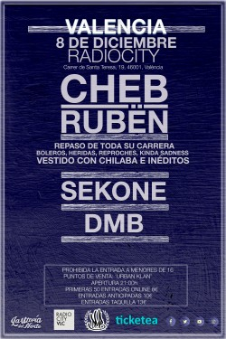 Cheb Rubën en Valencia