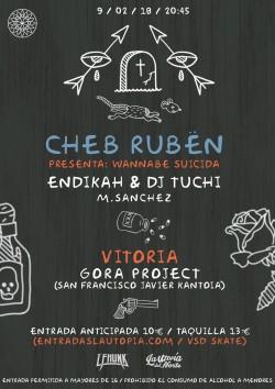 "Cheb Rubën presenta ""Wannabe suicida"" en Vitoria-gasteiz"